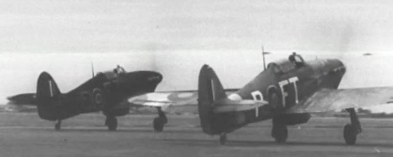 43 Squadron Hurricanes