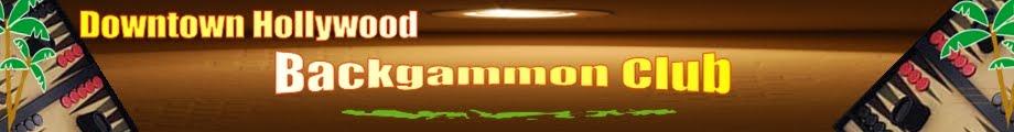 Downtown Hollywood Backgammon Club