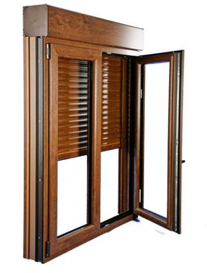 Qu es un caj n de persiana compacto monoblock alces for Ventanas con persianas incorporadas