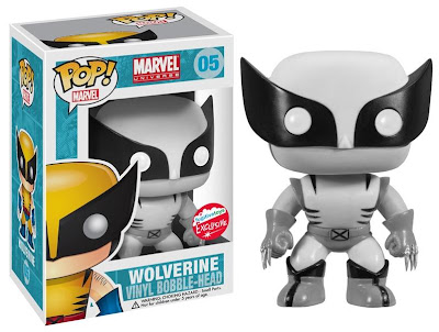 San Diego Comic-Con 2013 Exclusive Black & White Wolverine Marvel Pop! Vinyl Figure by Funko