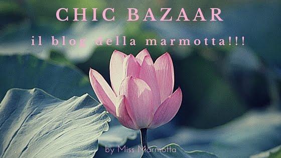 Chic bazaar... Il blog della marmotta!!!