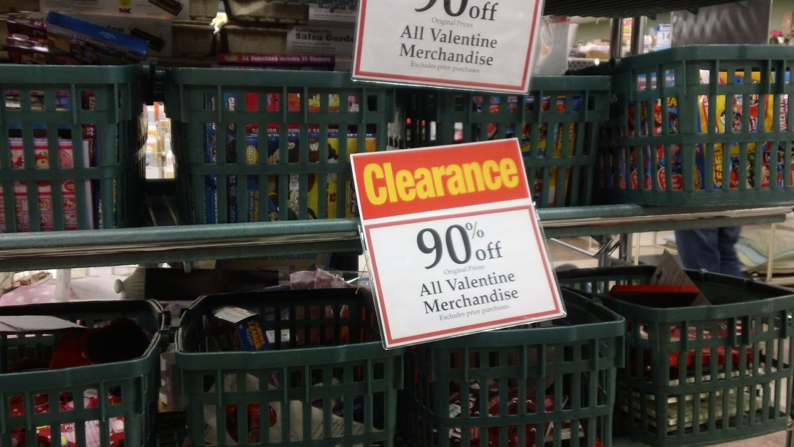 they had 50 off the already reduced 50 off clearance today - Christmas Tree Store Coupon