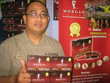 kopi morgan tambah gairah sex