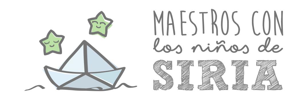 MAESTROS CON LOS NIÑOS DE SIRIA