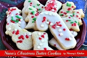 Nana's Christmas Butter Cookies