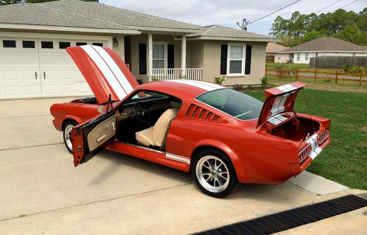 Up for sale is a beautiful 1965 mustang shelby gt350 fastback pro touring resto mod you will be the talk of the town and the center of attention at car