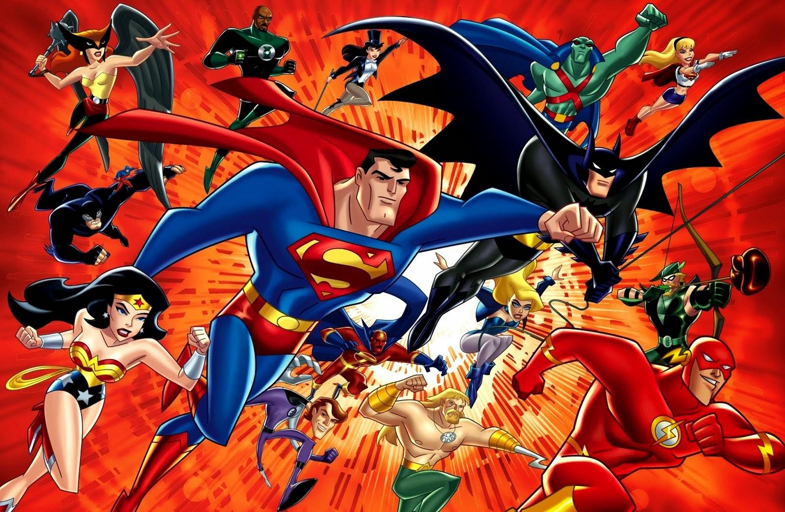 DC Heroes Wallpaper