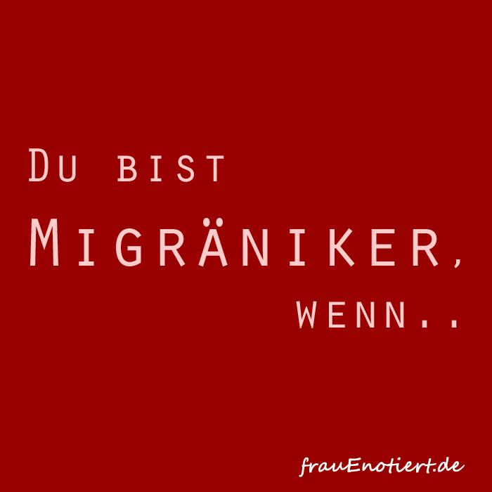 Migräne, Migraene, Kopfschmerzen, Chronische Krankheit