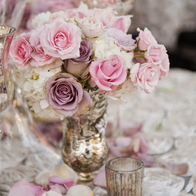 Beautiful Bridal Spring Wedding Centerpieces