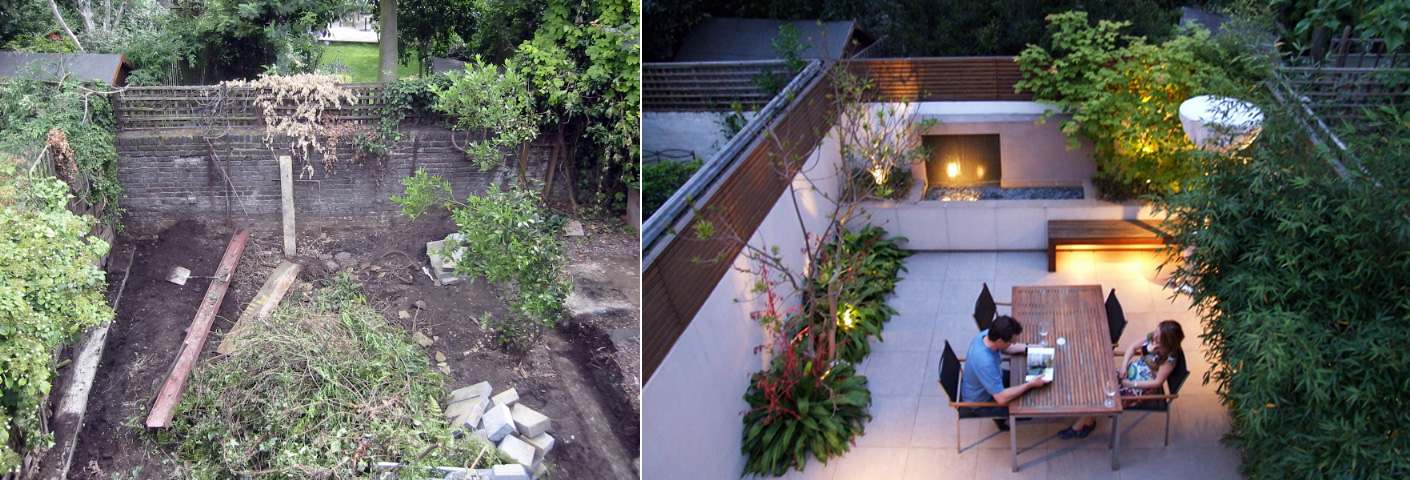 Merveilleux ... MyLandscapes Garden Design: Before And After Photos Of . ...