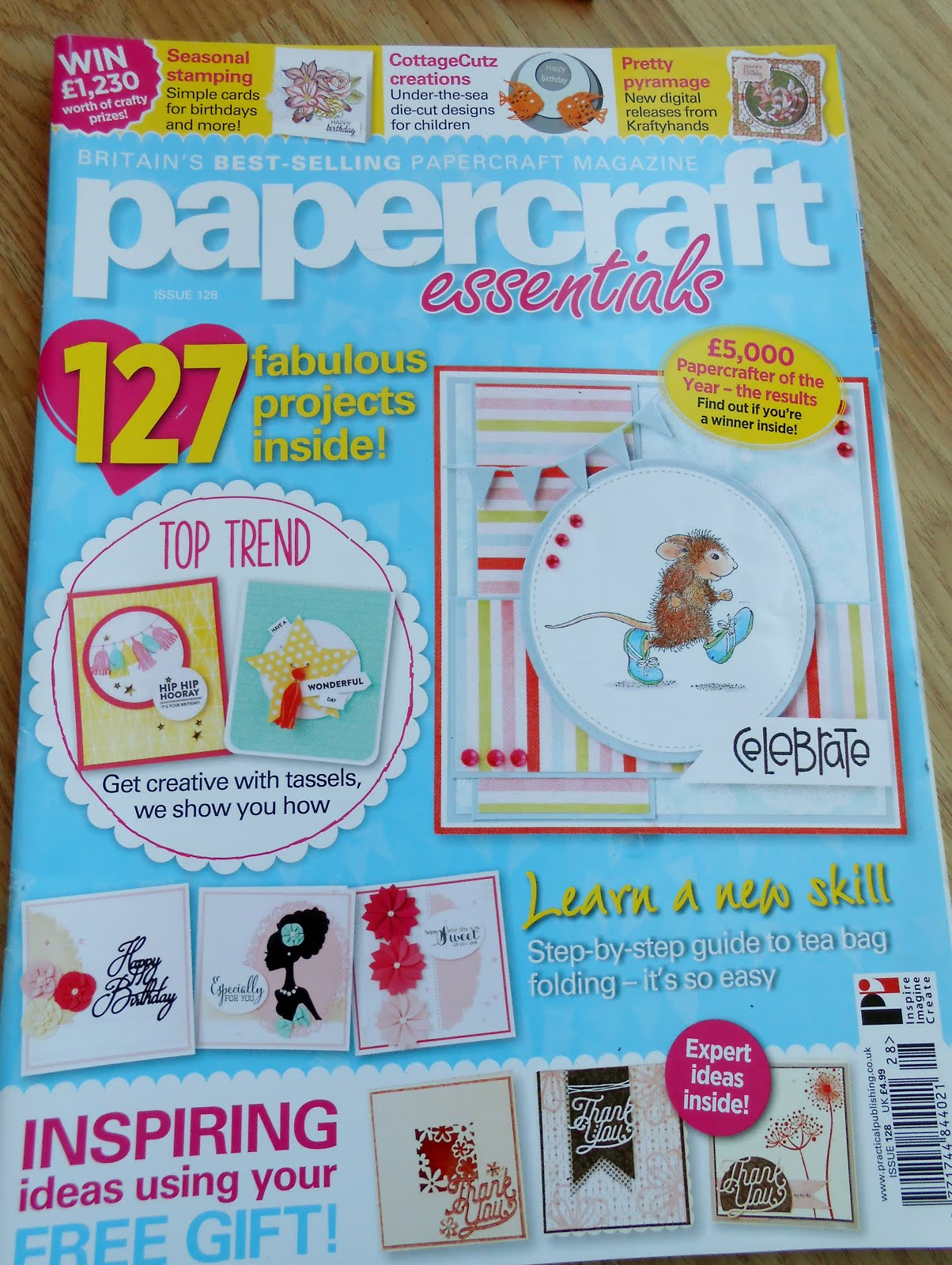 Runner up in Papercrafter of the 2015