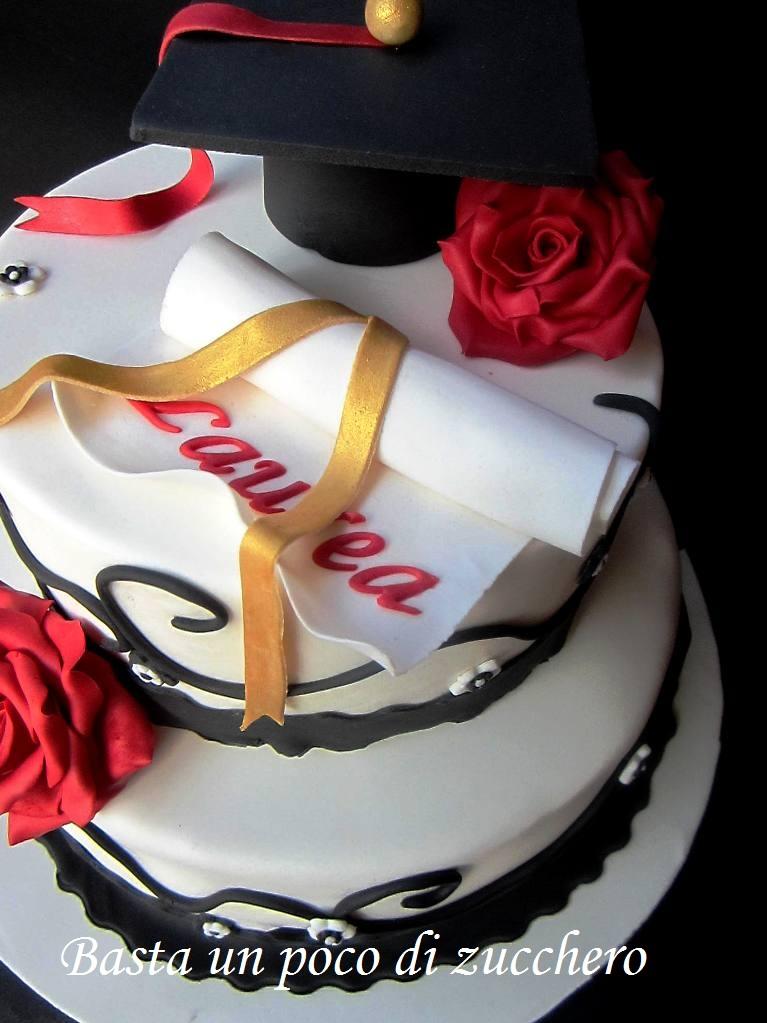 Basta un poco di zucchero torta o meglio torte laurea for Laurea in design