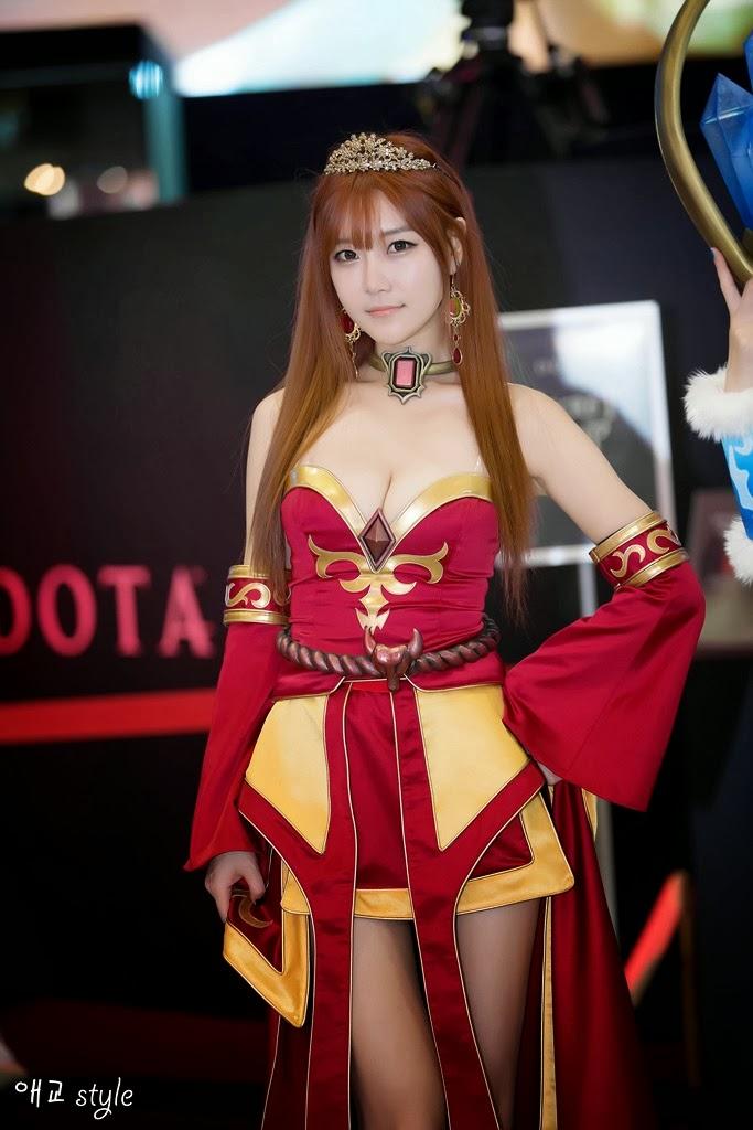 Lina Cosplay Dota 2 cosplay lina g-starLina Inverse Dota Cosplay