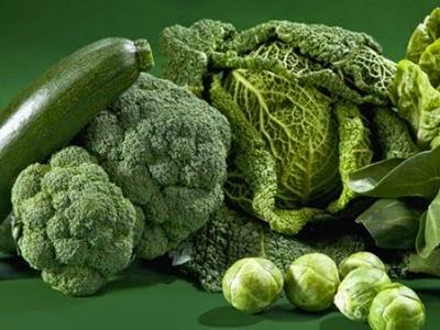 Khasiat Sayur-sayuran Hijau