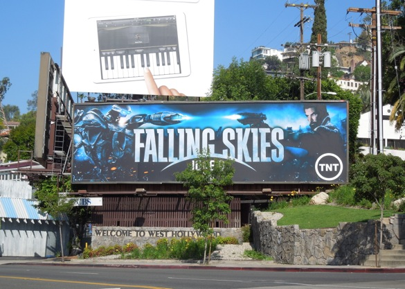 Falling Skies season 3 TNT billboard