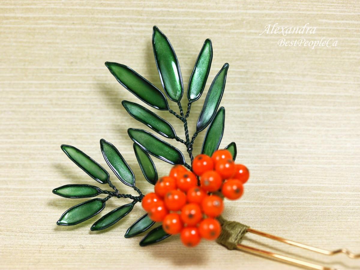 Hair Pin Rowan-Tree