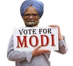 Narendra Modi Namo Jokes Manmohan Singh Funny Pictures