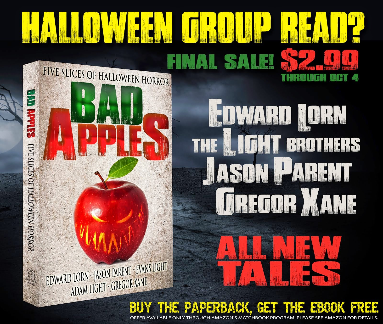 Bad Apples: Final Sale - $2.99 through October 4th, 2014