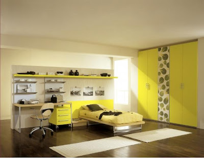 yellow design interior 4