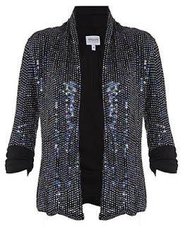 Armani Collezioni Sequin Jacket
