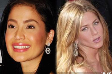Anne Curtis and Jennifer Aniston shared in an elevator