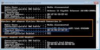 Uzyskiwanie adresu MAC i IP w cmd.exe