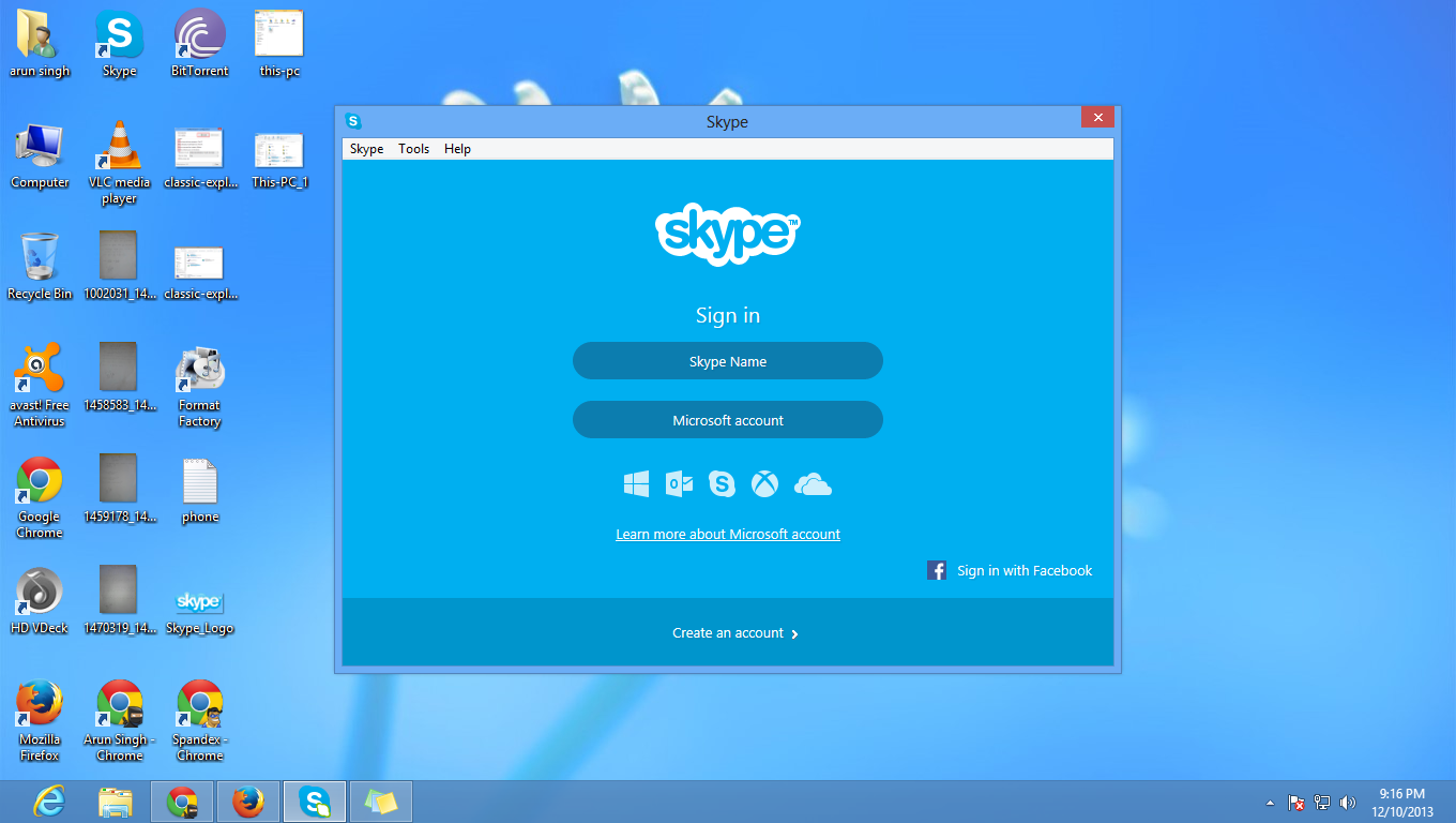 How to Use Skype in Desktop Mode in Windows 8 and 8.1