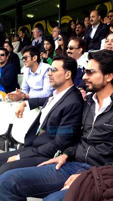 mar promotes OUATIM Dobara at India - Pakistan match in Edgbaston