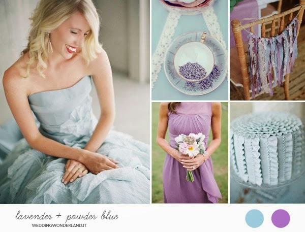 Matrimonio Viola E Azzurro : Un matrimonio a colori ilcurioso wedding guide