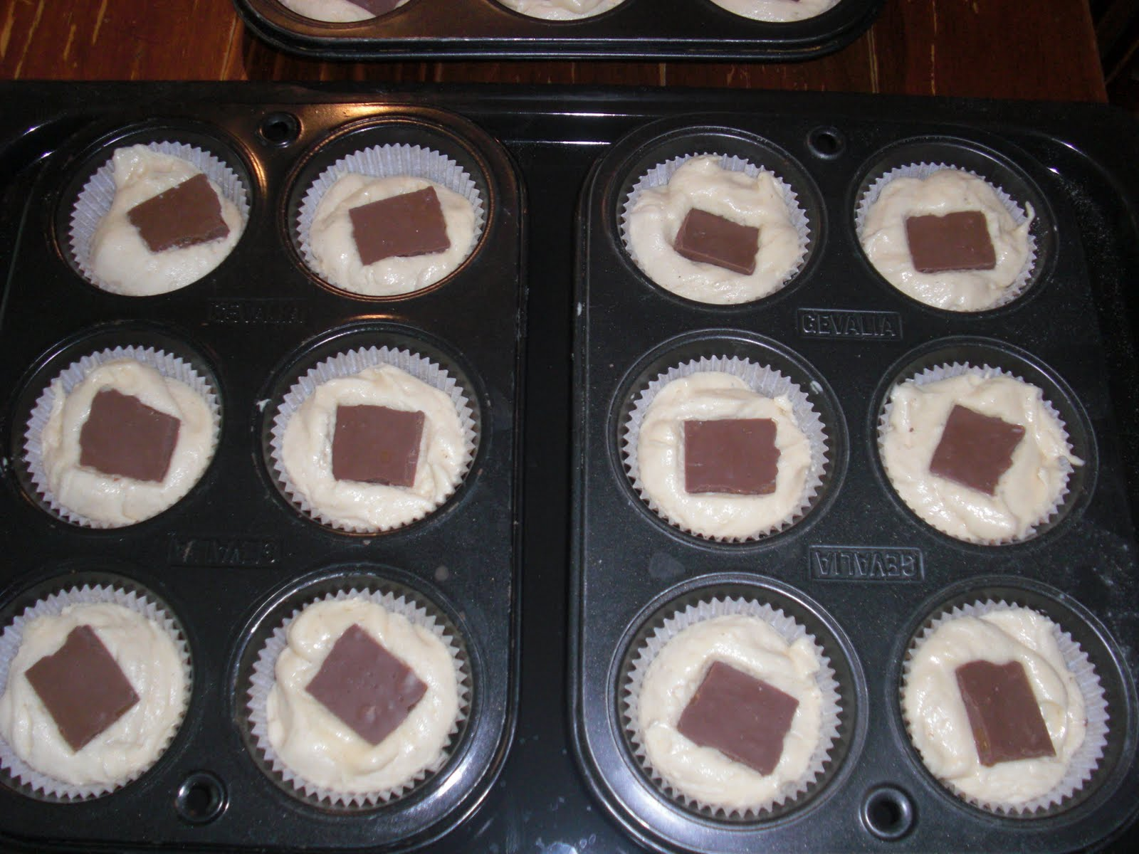 muffins utan formar