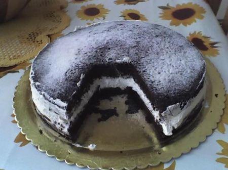 La torta della Kinder Delice