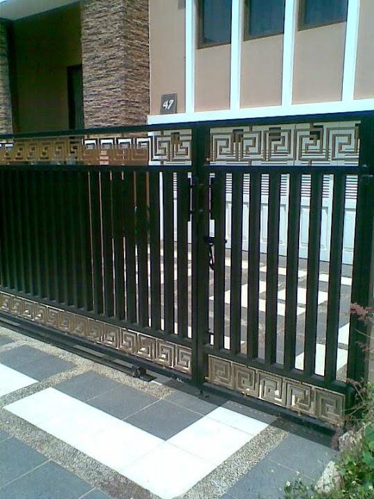 contoh pagar rumah minimalis, model pagar rumah minimalis, gambar pagar rumah minimalis