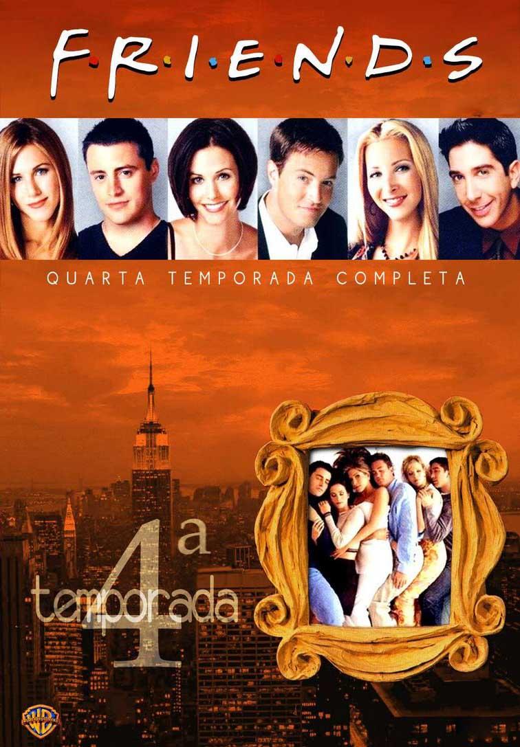 Friends 4ª Temporada Torrent - BluRay 720p Dual Áudio (1997)