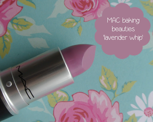 mac baking beauties lavender whip