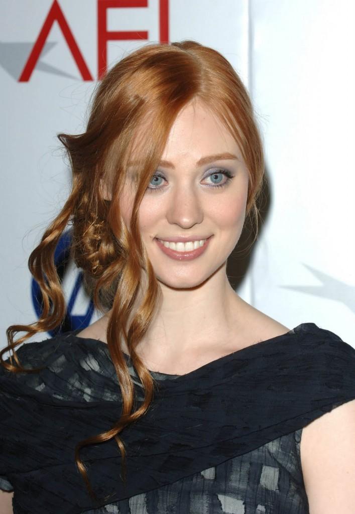 Deborah Ann Wolls Reddish Blonde Hairstyle Blondelacquer