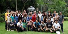 Foto bersama TIM Muhibah Seni FISS Unpas di Guangdong University. 2011