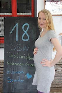 Bauchbild 18. Schwangerschaftswoche
