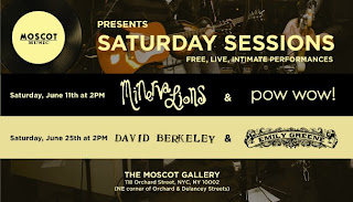 Minerva Lions and Pow Wow! Are Playing MOSCOT Music's Saturday Series on June 11th