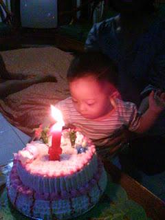 Yukova Nathaniel Ulang Tahun 1st