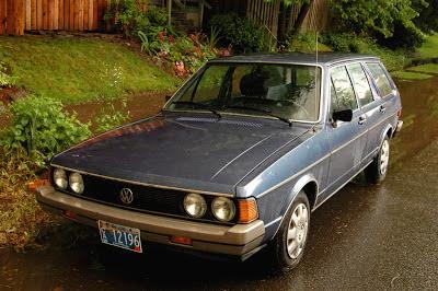1980 Volkswagen Dasher Diesel Wagon.