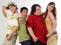 Grupo infantil de la serie Los Serrano