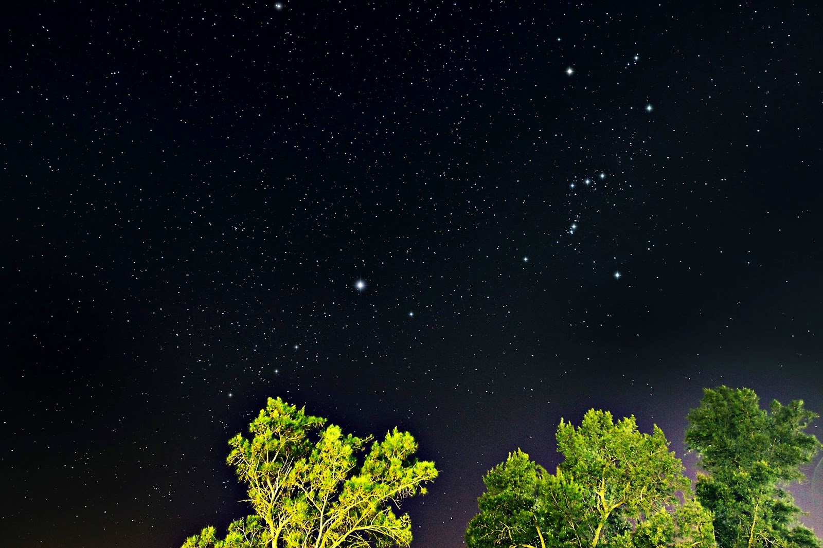 Kfar Szold Israel  City new picture : ... Constellation Orion Israel astrophotography from Kfar Szold Kibbutz