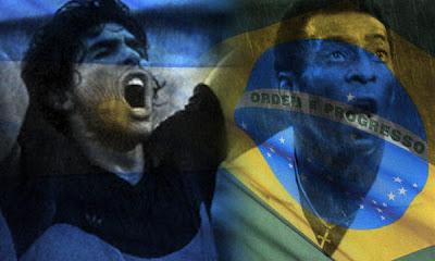 Mano a mano: ¿Maradona o Pelé?