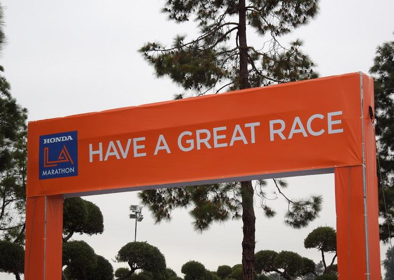LA Marathon Have a great race
