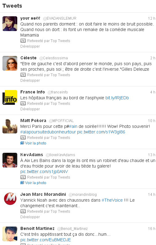 comment devenir top tweet