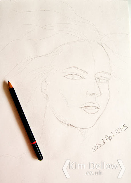 Show Your Face pencil portrait 3rd July 2015