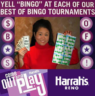 Bingo Winner at Harrah's Reno December 2012