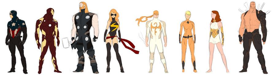 avengers attire por Enymy