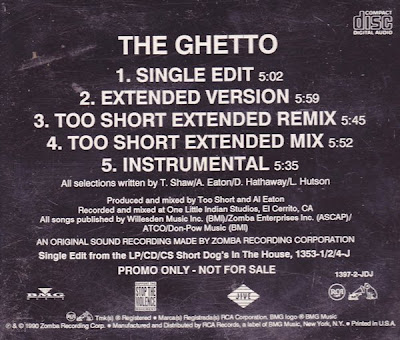 Too $hort – The Ghetto (Promo CDS) (1990) (320 kbps)