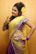 Priyanka half saree photos-thumbnail-13